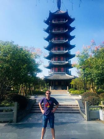 longshan pagoda