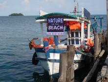 Paradise beach boat