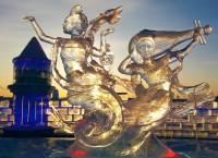 Ice sculpture Harbin snow and ice world 2018